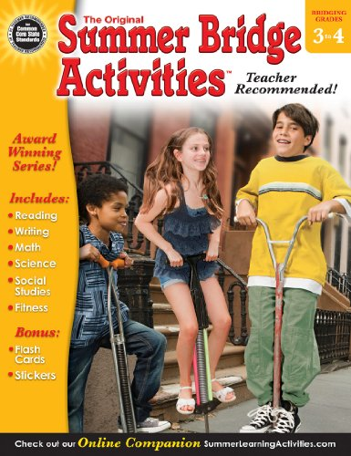 9781620576106: Summer Bridge Activities®, Grades 3 - 4