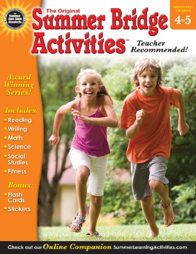 9781620576113: Summer Bridge Activities, Grades 4 - 5