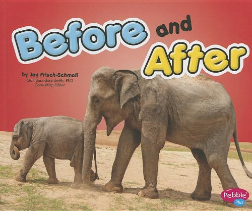 Before and After (Exploring Opposites): Joy Frisch-Schmoll