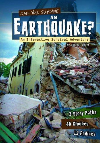 9781620657096: Can You Survive an Earthquake?: An Interactive Survival Adventure (You Choose: Survival)