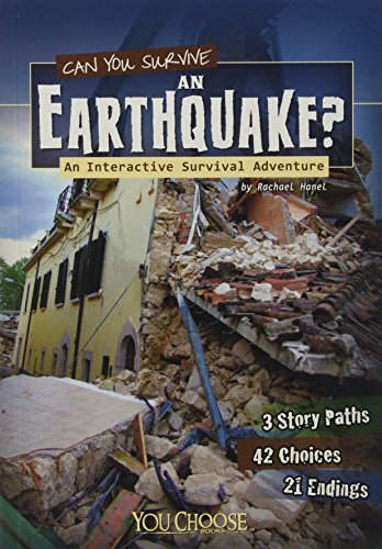 9781620657102: Can You Survive an Earthquake?: An Interactive Survival Adventure (You Choose Books: You Choose: Survival)