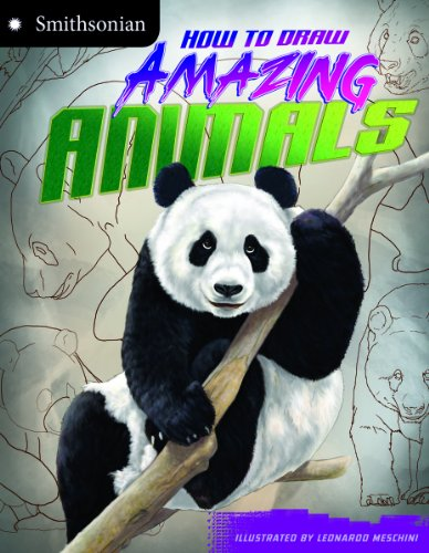 9781620657263: How to Draw Amazing Animals (Smithsonian Drawing Books)