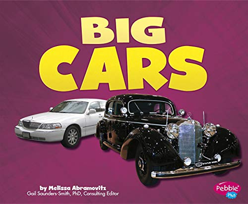 Big Cars (Cars, Cars, Cars): Abramovitz, Melissa