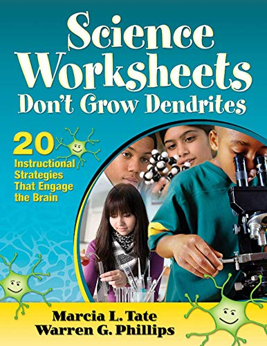 9781620878811: Science Worksheets Don't Grow Dendrites: 20 Instructional Strategies That Engage the Brain