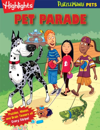 9781620910764: Pet Parade: Puzzlemania Pets