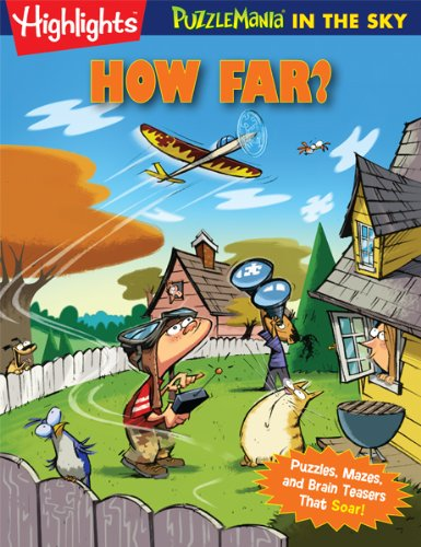How Far?: PuzzleMania in the Sky (Paperback)