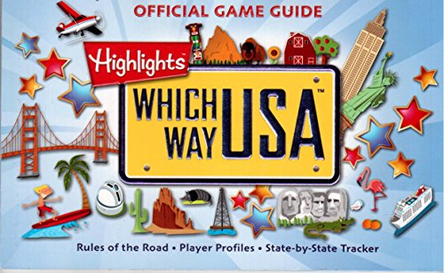 Which Way U.S.A. (Highlights) Official Game Guide: Rules of the Road, Player Profiles, State By ...