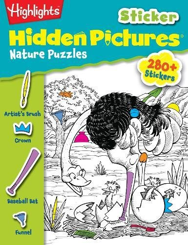Highlights Sticker Hidden Pictures(r) Nature Puzzles: Highlights for Children