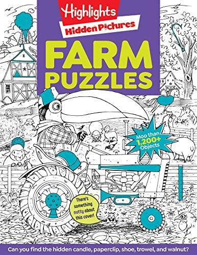 Highlights Hidden Pictures® Favorite Farm Puzzles (Favorite Hidden Pictures®): Children, ...
