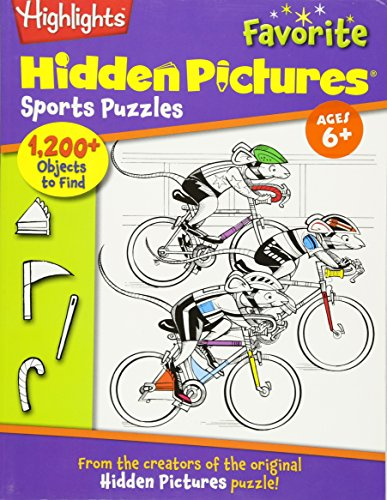 Highlights Hidden Pictures® Favorite Sports Puzzles (Favorite Hidden Pictures®): Children, ...