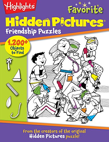 9781620917879: Friendship Puzzles: From the creators of the original Hidden Pictures® puzzle! (Highlights(TM) Hidden Pictures®)