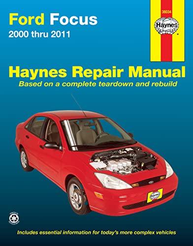 9781620920008: Ford Focus 2000-2011 Repair Manual (Haynes Repair Manual)
