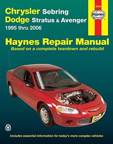 9781620920015: Chrysler Sebring & Dodge Avenger 1995-2006 Repair Manual (Haynes Repair Manual)