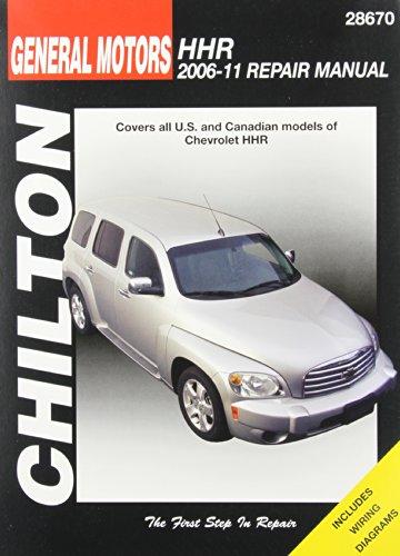 9781620920053: Chilton Total Car Care GM Chevrolet HHR 2006-2011Repair Manual (Chilton's Total Car Care Repair Manual)