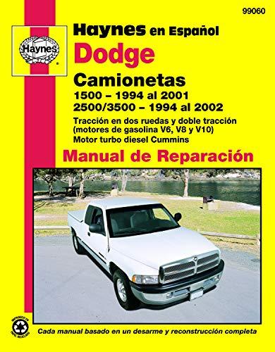 9781620920176: Dodge Camionetas Manual De Reparacion (Haynes Repair Manual)
