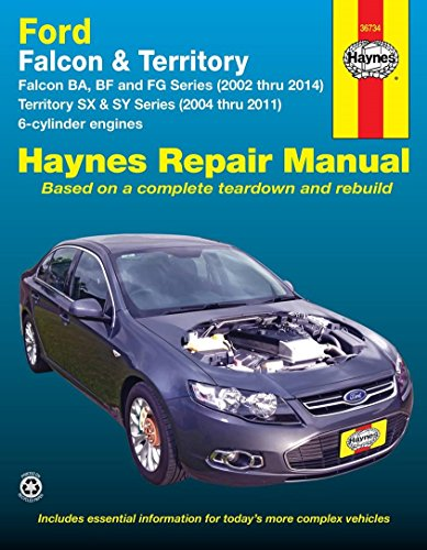 9781620920237: Ford Falcon Automotive Repair Manual: 2002-2014