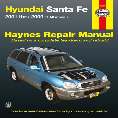 9781620920411: Hyundai Santa Fe Automotive Repair Manual (Haynes Repair Manual)