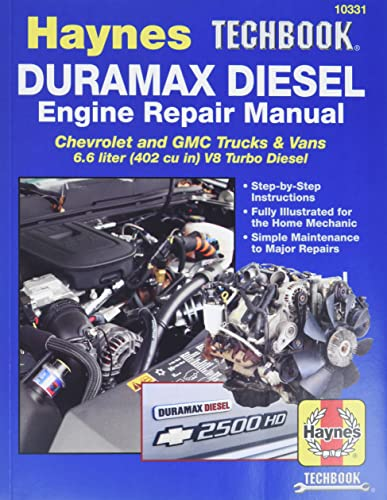9781620920435: Duramax Diesel Engine Repair Manual (Haynes Techbook)