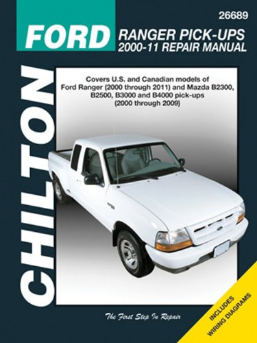 9781620920480: Chilton Total Car Care Ford Ranger Pick-ups 2000-2011 & Mazda B-series Pick-ups 2000-2009 (Chilton's Total Car Care Repair Manuals)