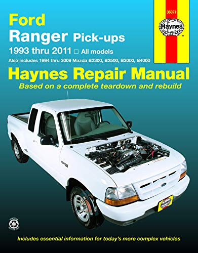 Ford Ranger Automotive Repair Manual: 1993-11 (Haynes Automotive Repair Manuals)
