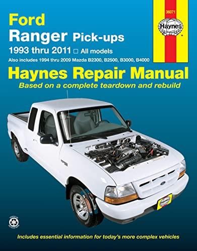 9781620920497: Ford Ranger & Mazda B2300/B2500/B3000/B4000 Haynes Repair Manual (1993-2011)
