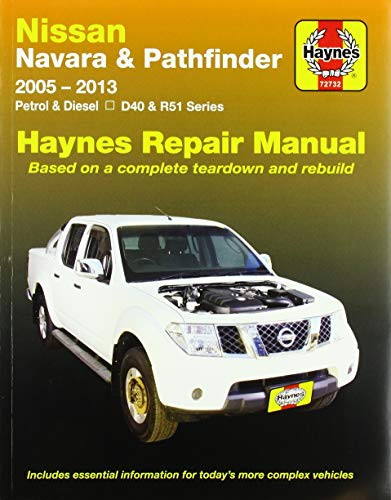 9781620920671: Nissan Navara/Pathfinder Automotive Repair Manual (Haynes Automotive Repair Manuals)