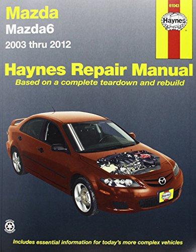 9781620920732: Mazda6 2003 thru 2012 (Haynes Manuals)