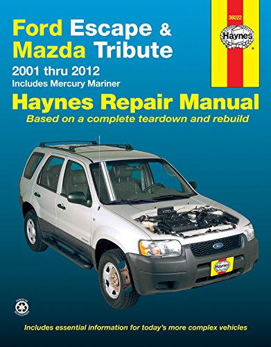 Ford Escape & Mazda Tribute 2001-2012 Format: Paperback