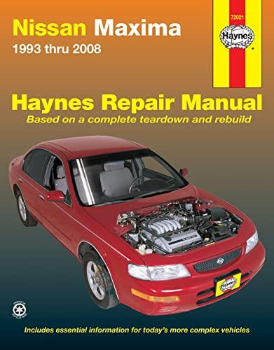 Nissan Maxima Automotive Repair Manual: 1993-08 (Haynes Automotive Repair Manuals): Henderson, Bob
