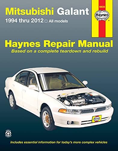 Mitsubishi Galant Automotive Repair Manual (Paperback): Haynes Publishing