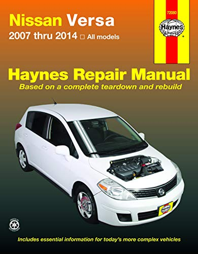 9781620920930: Nissan Versa 2007 thru 2014 All models (Haynes Repair Manual)