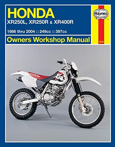 9781620920961: Honda XR250L, XR250R & XR400R 1986 thru 2004: 249cc, 397xx (Owners' Workshop Manual)