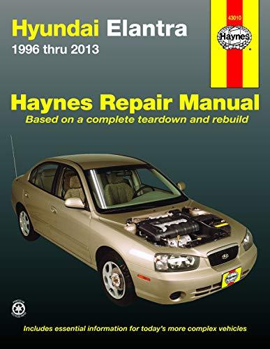 9781620921081: Hyundai Elantra 1996 thru 2013 (Haynes Repair Manual)