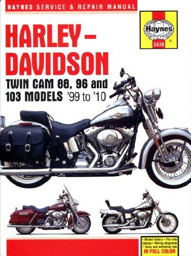 9781620921098: Harley-Davidson Twin Cam 88, 96 & 103 Models ... on