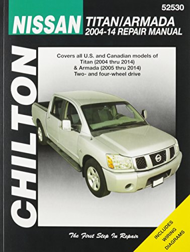 9781620921128: Nissan Titan/Armada Chilton Automotive Repair Manual (Haynes Automotive Repair Manuals)