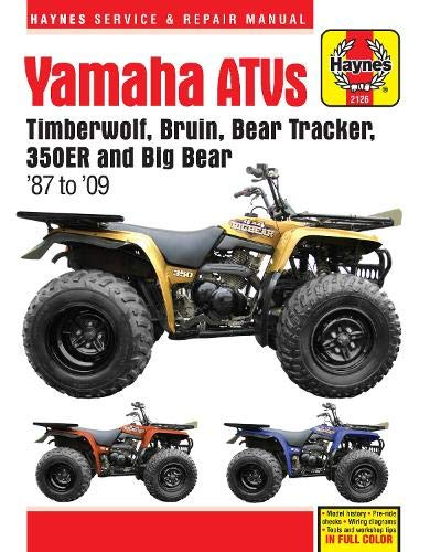 Yamaha Atvs Timberwolf  Bruin  Bear Tracker  350er And Big