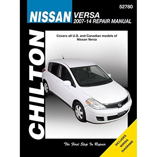 Nissan Versa Automotive Repair Manual: 2007-14 (Chilton Automotive)