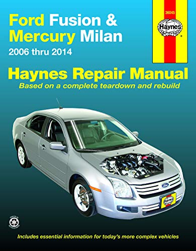 9781620921210: Ford Fusion & Mercury Milan: 2006 thru 2014 (Haynes Repair Manual)