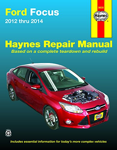 9781620921227: Ford Focus 2012 thru 2014: Does not include information specific to Focus Electric models (Haynes Repair Manual)
