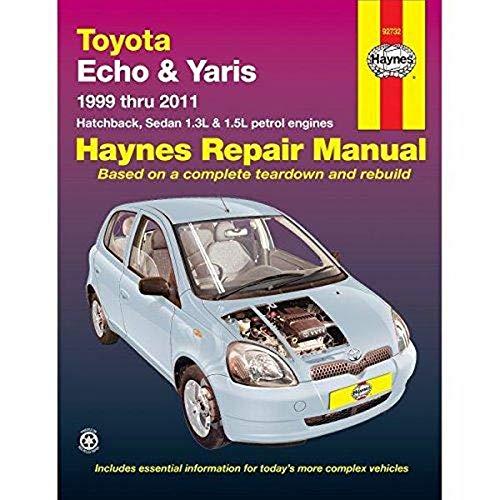 9781620921364: Toyota Echo/Yaris Automotive Repair Manual: 1999-2011 (Haynes Automotive Repair Manuals)
