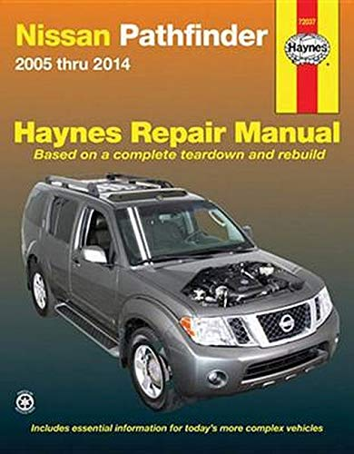 Haynes Repair Manual 72037 Nissan Pathfinder 2005