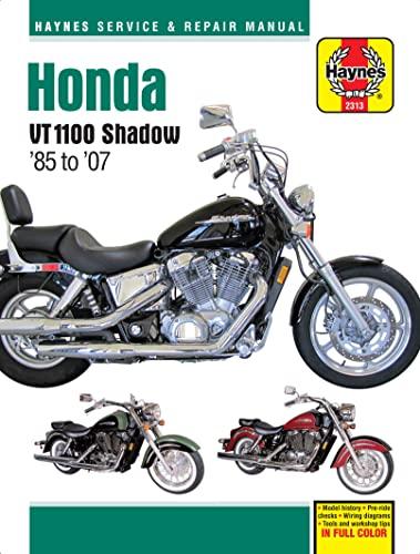 9781620921463: Honda VT1100 Shadow: '85 to '07 (Haynes Service & Repair Manual)