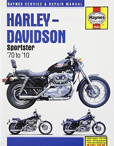 9781620921487: Harley-Davidson Sportster: '70 to '10 (Haynes Service & Repair Manual)