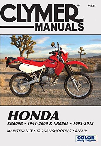 9781620921531 Honda Xr600r 1991 2000 Xr650l 1993 2012 This Manual Does Not Cover Xr650r Models Clymer Powersport Abebooks Editors Of Haynes Manuals 1620921537
