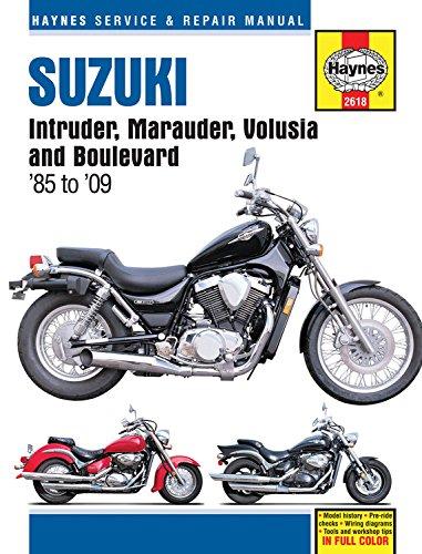 9781620921579: Suzuki Intruder, Marauder, Volusia and Boulevard '85 to '09 (Haynes Service & Repair Manual)