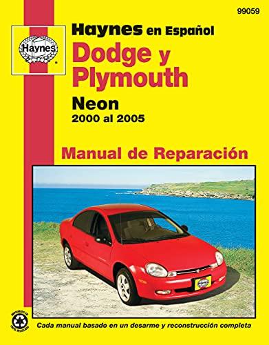 modelos dodge y plymouth neon haynes manual de reparacion por 2000 rh abebooks com 2000 Dodge Neon 2000 Plymouth Neon Problems