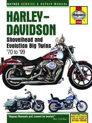 9781620921739: Harley-Davidson Shovelhead and Evolution Big Twins '70 to '99 (Haynes Service & Repair Manual)