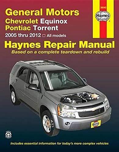 General Motors Chevrolet Equinox and Pontiac Torrent Format: Paperback