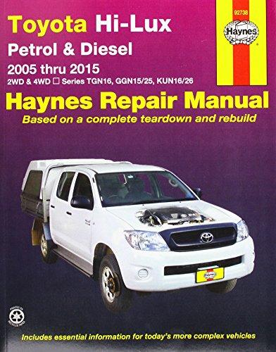 Toyota Hilux 4x4 Automotive Repair Manual: 2005-2015: Jeff Killingsworth