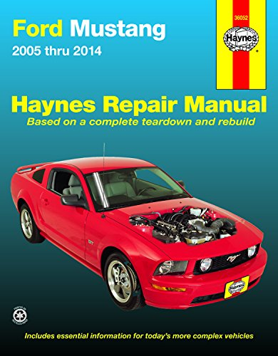 9781620921876: Haynes Ford Mustang 2005 Thru 2014 Automotive Repair Manual: 2005-14